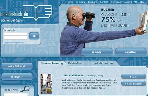 onleihn will als erste versandbibliothek in deutschland eine marktl cke schlie en www. Black Bedroom Furniture Sets. Home Design Ideas