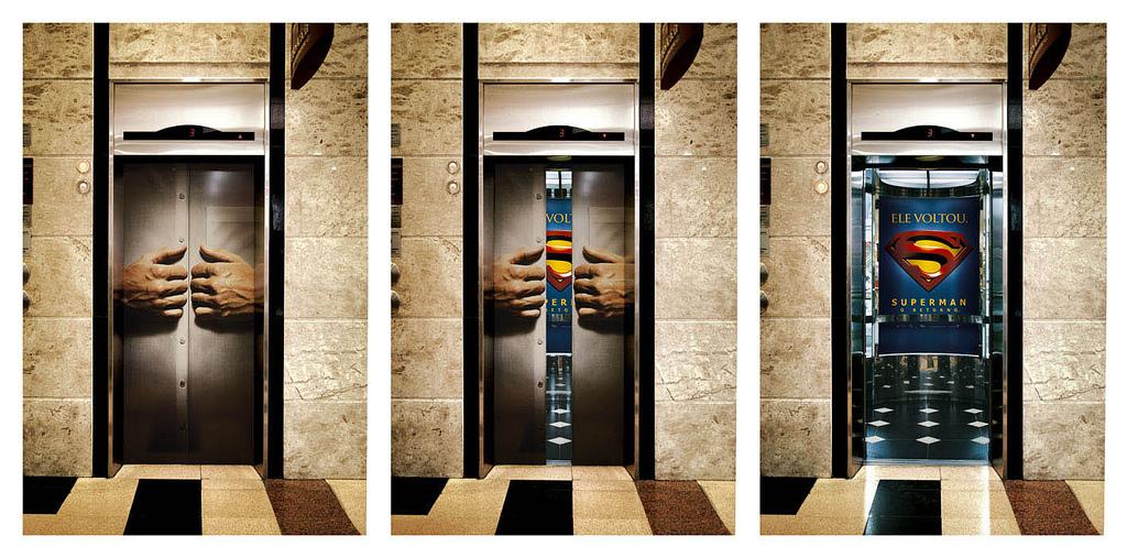 superman-elevator-ad
