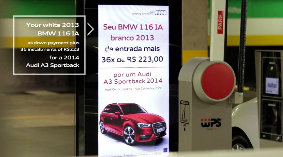 Audi-billboard-gebrauchtwagenpreis