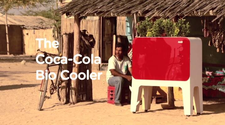 coca cola bio cooler