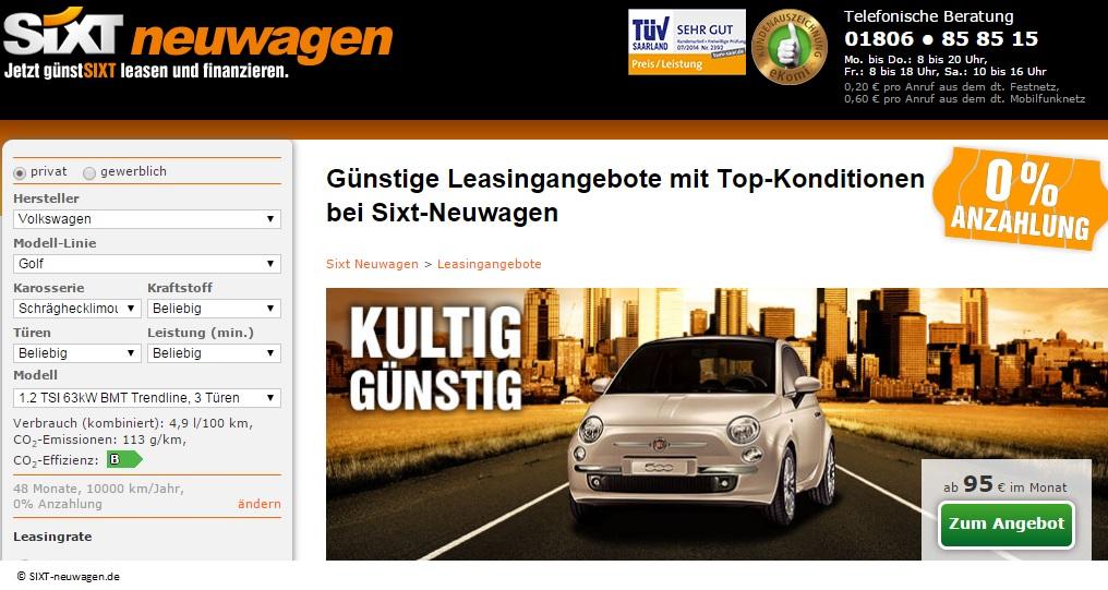 sixt-neuwagen.de
