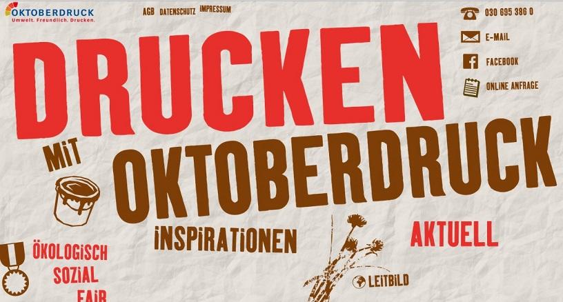 oktober-Druck