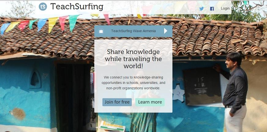 teachsurfing