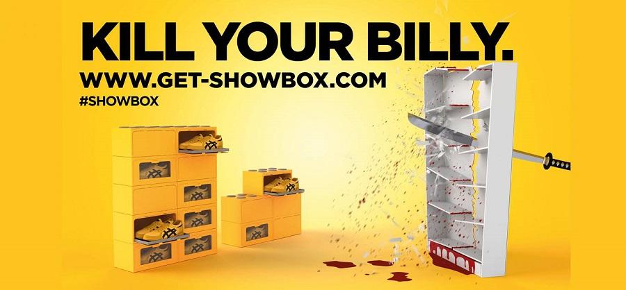 Schuhregal aus schuhkartons bauen  Die PAPACKS® SHOWBOX macht aus einem Schuhkarton ein Schuhregal ...