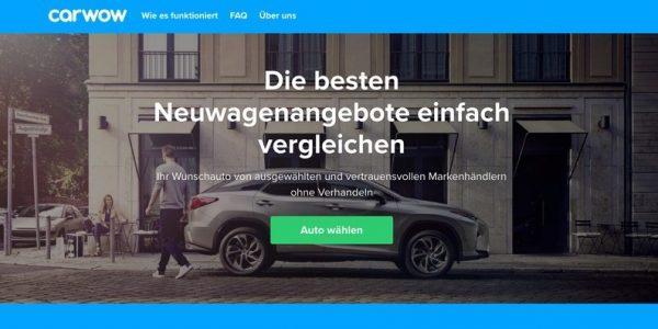 """Britische Neuwagen-Kaufplattform """"carwow"""" will mit dem Einfachheitsprinzip auch Deutschland erobern"""