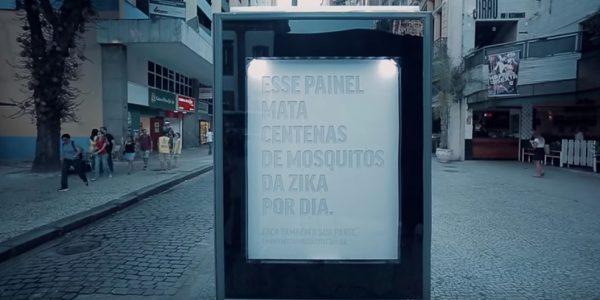 Mosquito Killer Billboard will die Zika-Virus-Epidemie eindämmen
