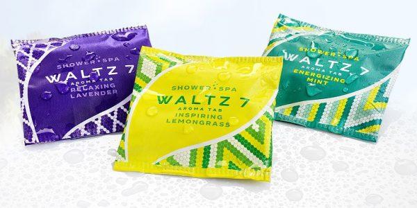WALTZ 7 hat mit Aroma Duschtabs eine lukrative Nische besetzt