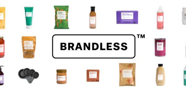 Brandless verkauft alle Produkte des täglichen Bedarfs für 3 US Dollar