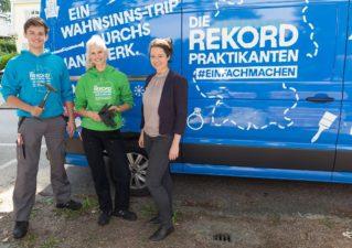 """Das Handwerk """"Start 'Die Rekordpraktikanten'"""", 1. August 2017"""