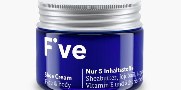 Einfachheitsprinzip: FIVE Skincare Naturkosmetik beinhaltet maximal fünf Inhaltsstoffe