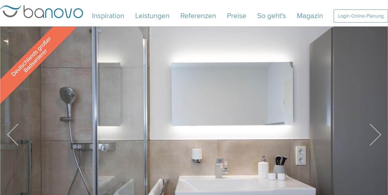 Startup Banovo plant die Preisrevolution für Badsanierungen auch ...
