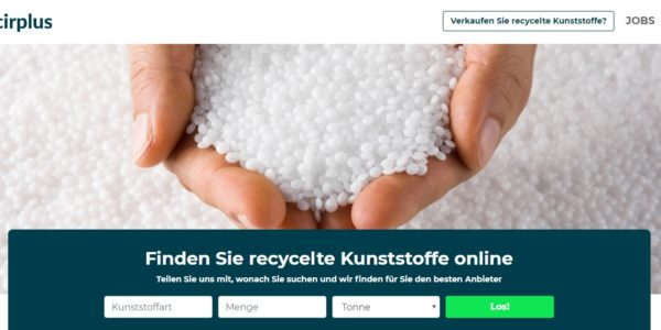 cirplus startet die digitale Recycling-Revolution