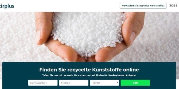 cirplus startet die digitale Recycling-Revolution