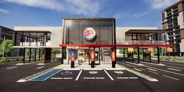 Burger King präsentiert das Schnellrestaurant der Zukunft